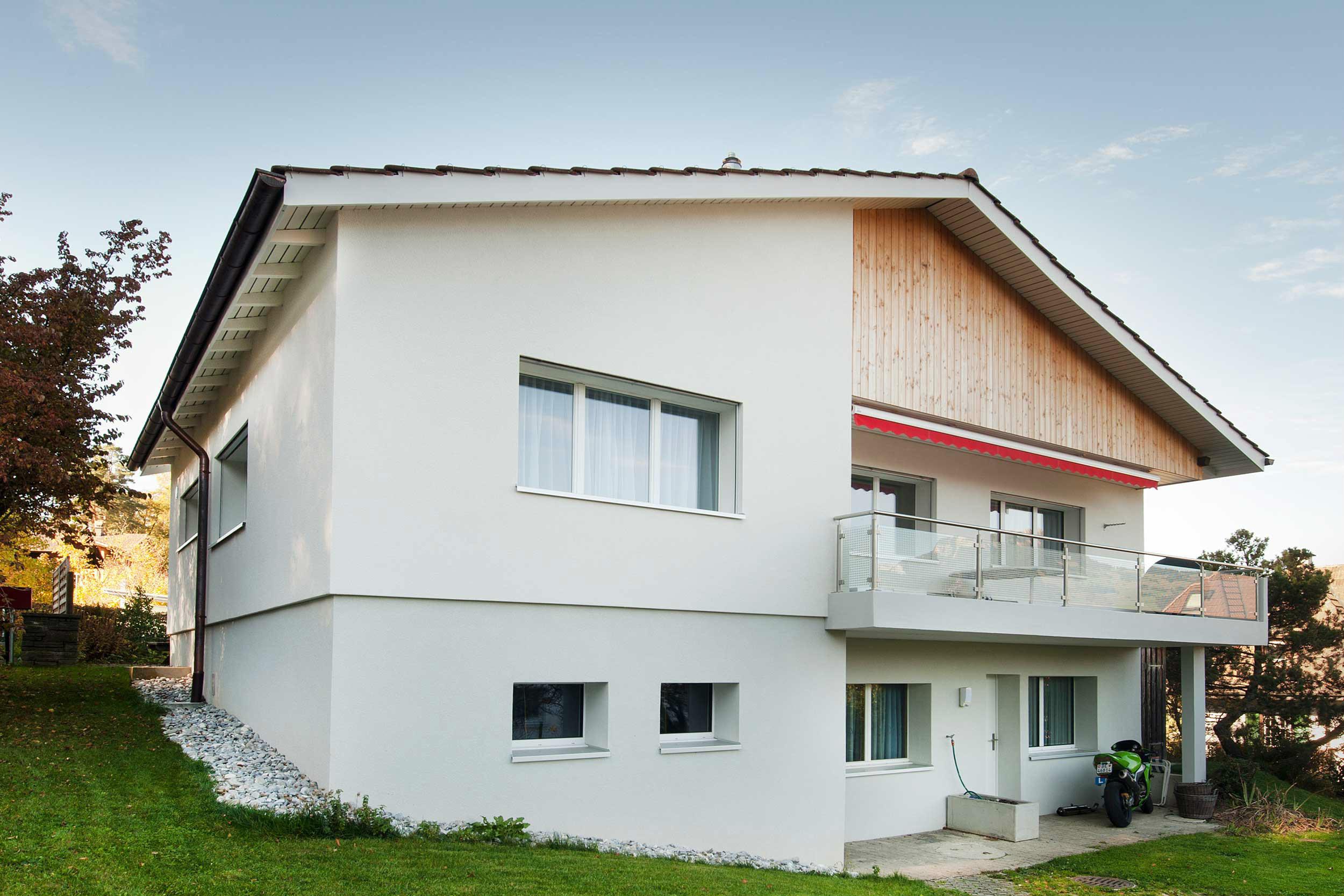 universal ag geak und sanierung einfamilienhaus spiez. Black Bedroom Furniture Sets. Home Design Ideas